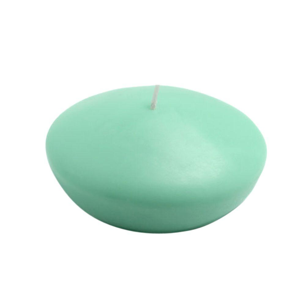 Zest Candle 4 in. Aqua Floating Candles (3-Box)