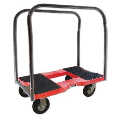 1,500 lb. Capacity Air-Ride Panel Cart Dolly in Red