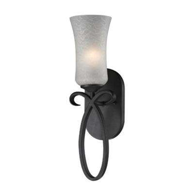 Lawrence 1-Light Cafe Bronze Incandescent Sconce