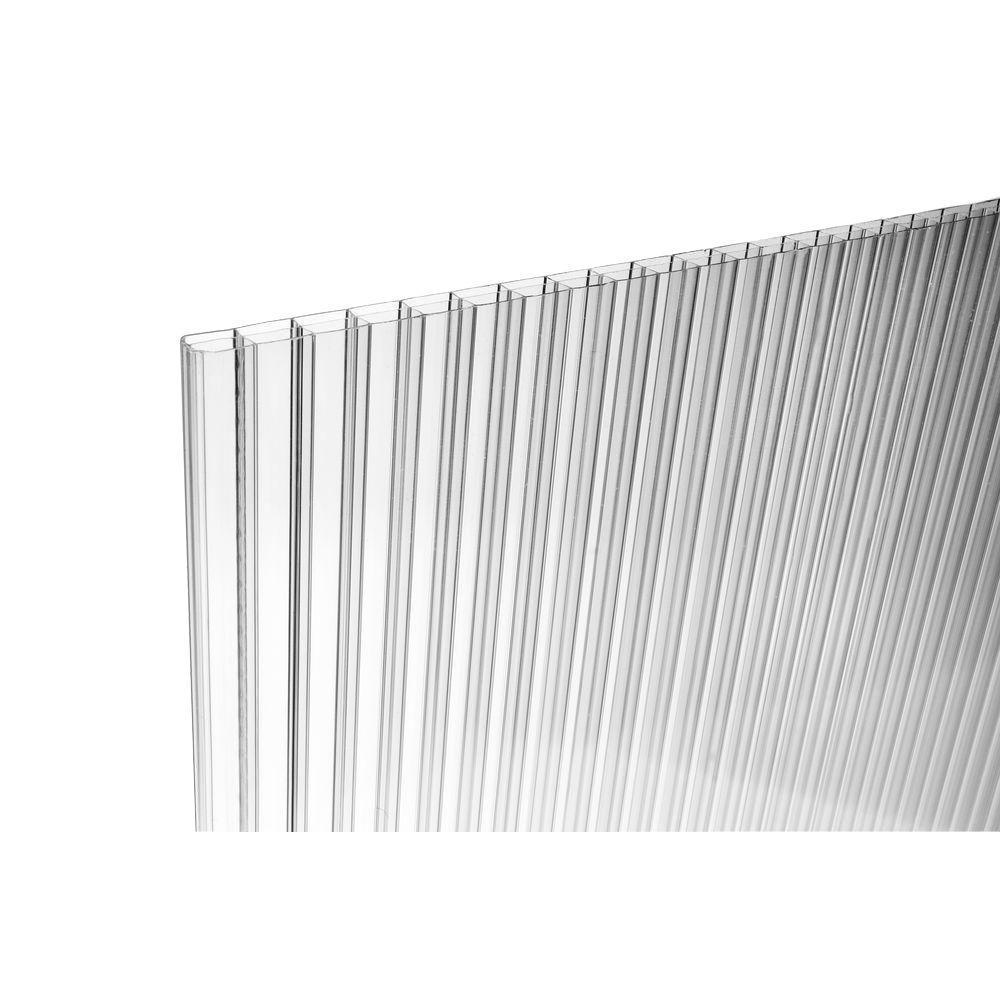 4,0 mm Lexan/® polycarbonat transparent 680 x 620 mm transparente