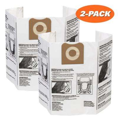 High-Efficiency Size A Dust Bags for 12 gal. to 16 gal. RIDGID Wet Dry Vacs (2-Pack)