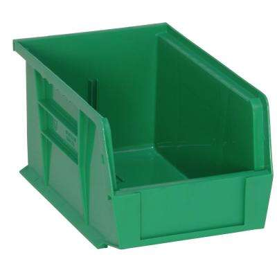 Ultra Series Stack and Hang 2.4 Gal. Storage Bin in Green (12-Pack)