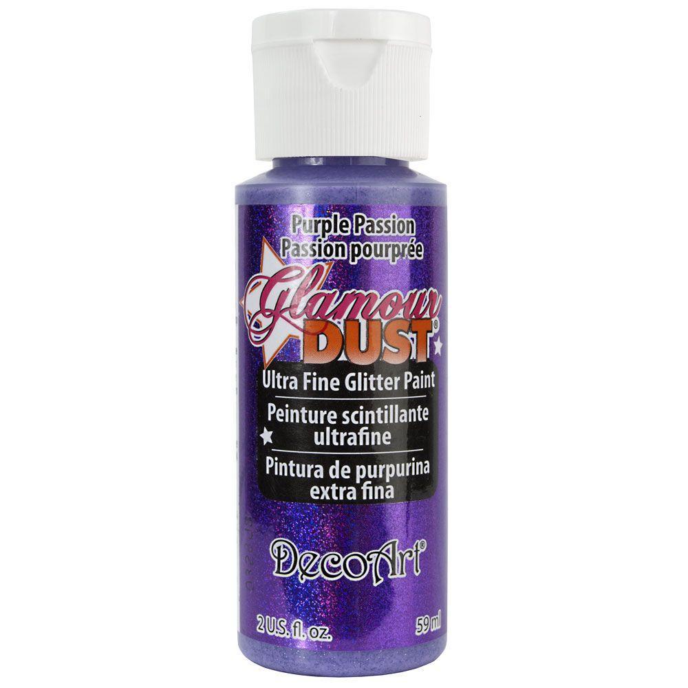 Purple Pion Glitter Paint