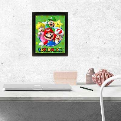 """Super Mario - Cast"" Wall Art"