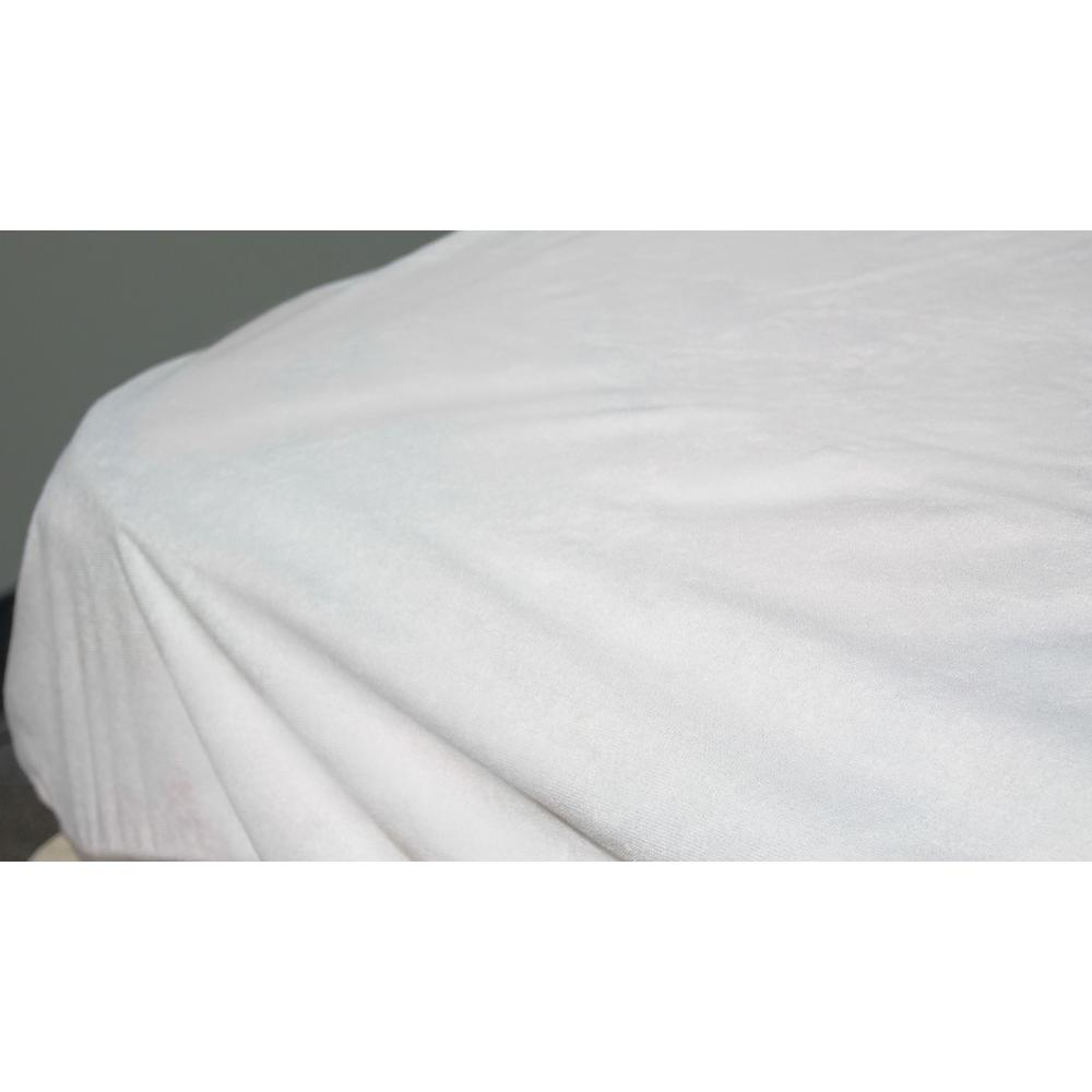 FREE PILLOW PROTECTORS BREATHABLE WATERPROOF TERRY FITTED MATTRESS PROTECTORS