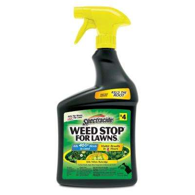 Weed Stop for Lawns 32 oz. Read-To-Use Lawn Weed Killer