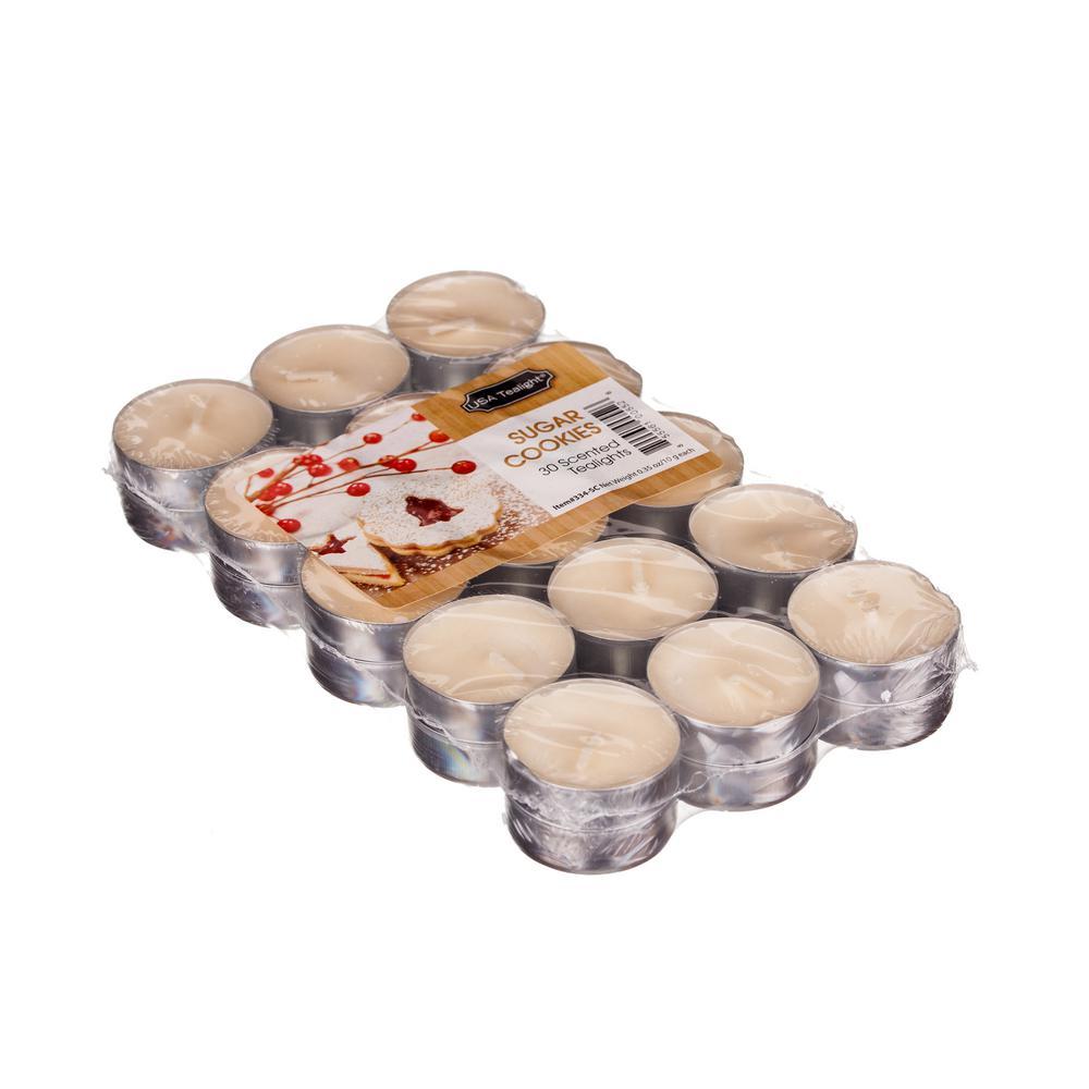 Sugar Cookies Tealight Candles (Set of 60)