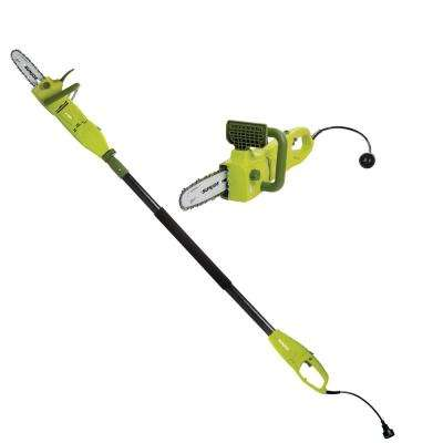 2-in-1 8 in. 8 Amp Electric Convertible Pole Chain Saw