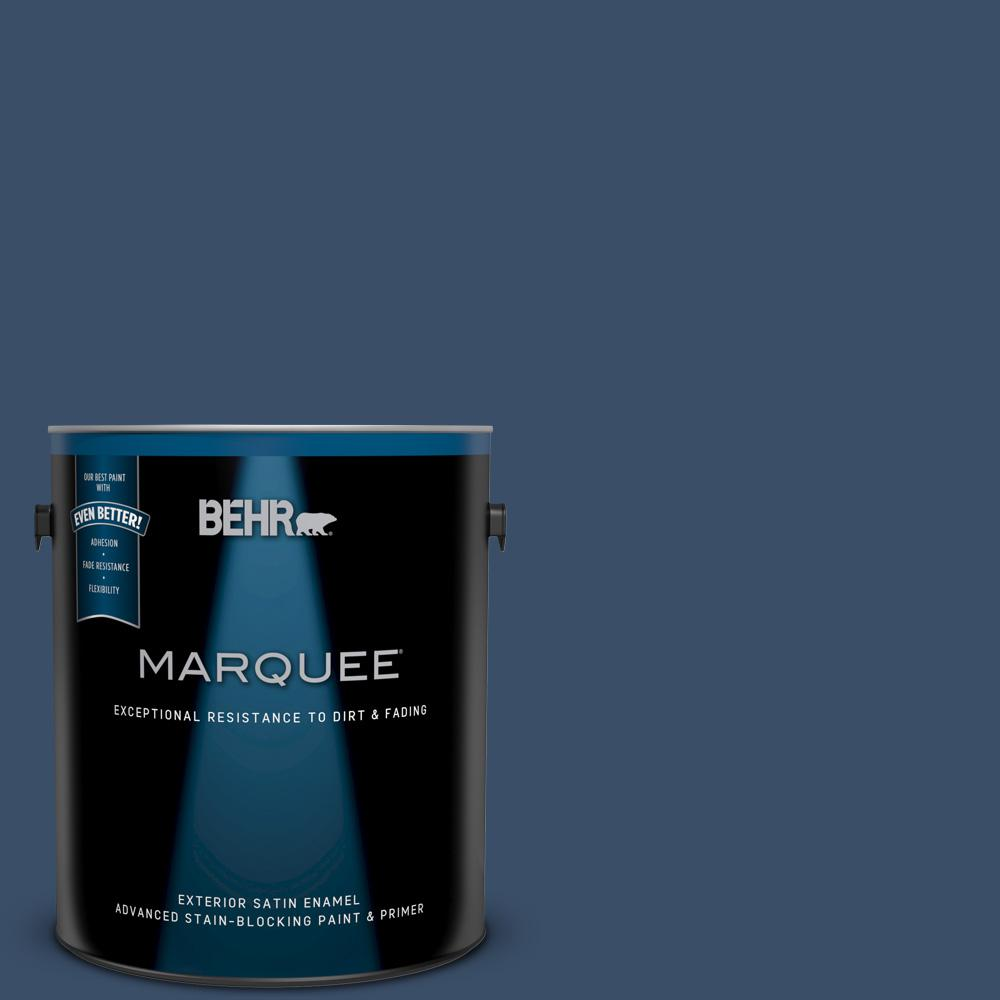 1-gal. #M510-7 Inked Satin Enamel Exterior Paint