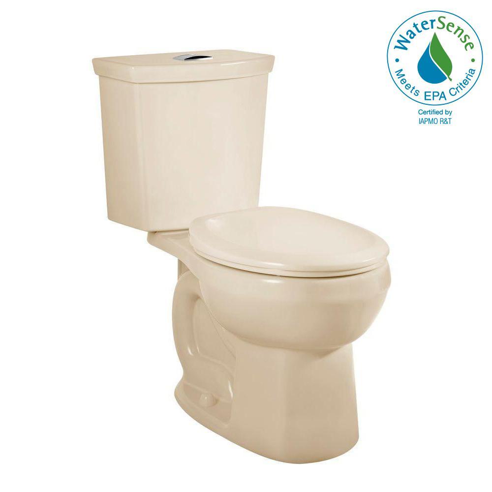 Delta Prelude 2-piece 1.28 GPF Single Flush Round Front Toilet in ...