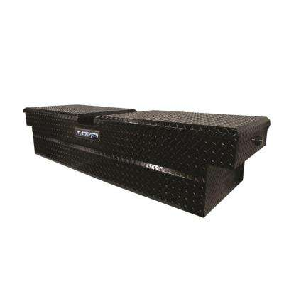 70 in. Aluminum Cross Bed Truck Box, Black