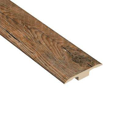 Woodruff 1/4 in. Thick x 1-7/16 in. Wide x 94 in. Length Vinyl T-Molding