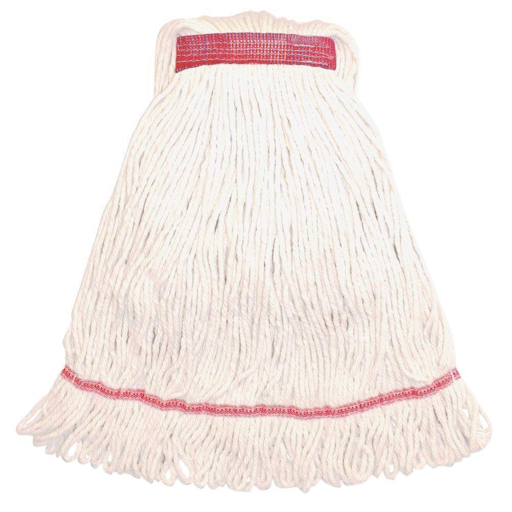 Narrow Band Medium Rayon Cotton Mop Head
