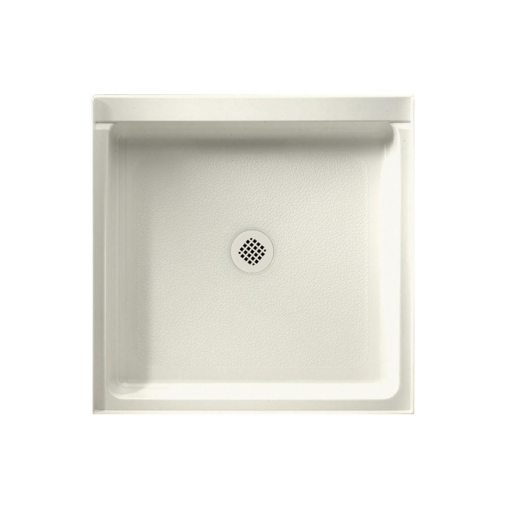 Gentil This Review Is From:36 In. X 36 In. Solid Surface Single Threshold Shower  Pan In Bisque