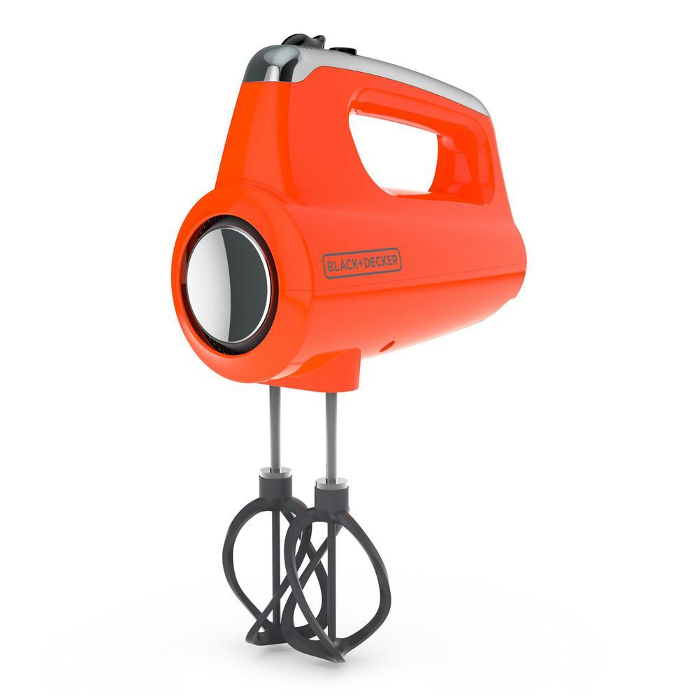 Helix Performance Premium 5-Speed Mixer Tangerine Hand Mixer