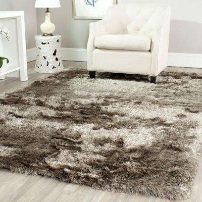 Paris Shag Sable 8 ft. x 10 ft. Area Rug