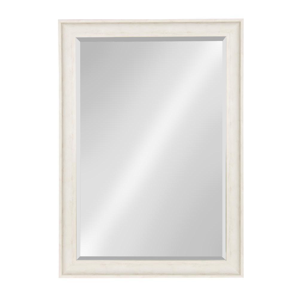 McKinley Rectangle White Mirror