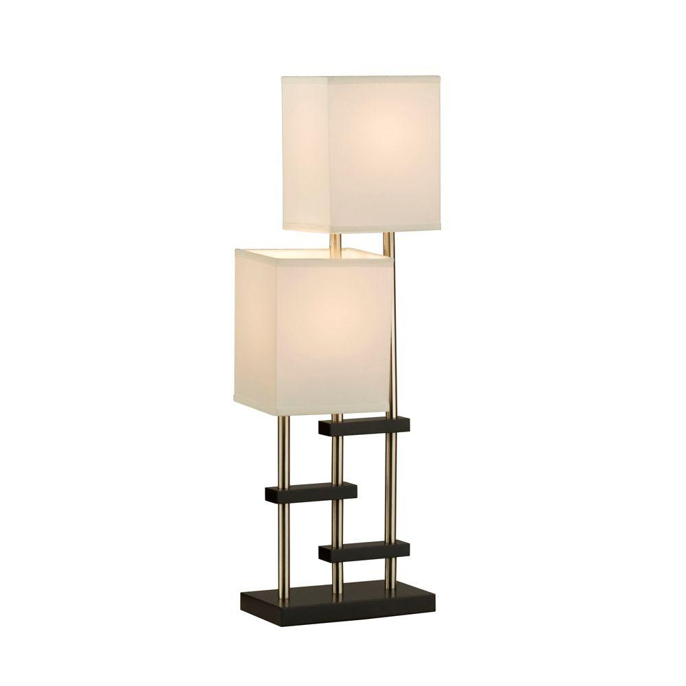 Filament Design Astrulux 28 in. Dark Brown Incandescent Table Lamp