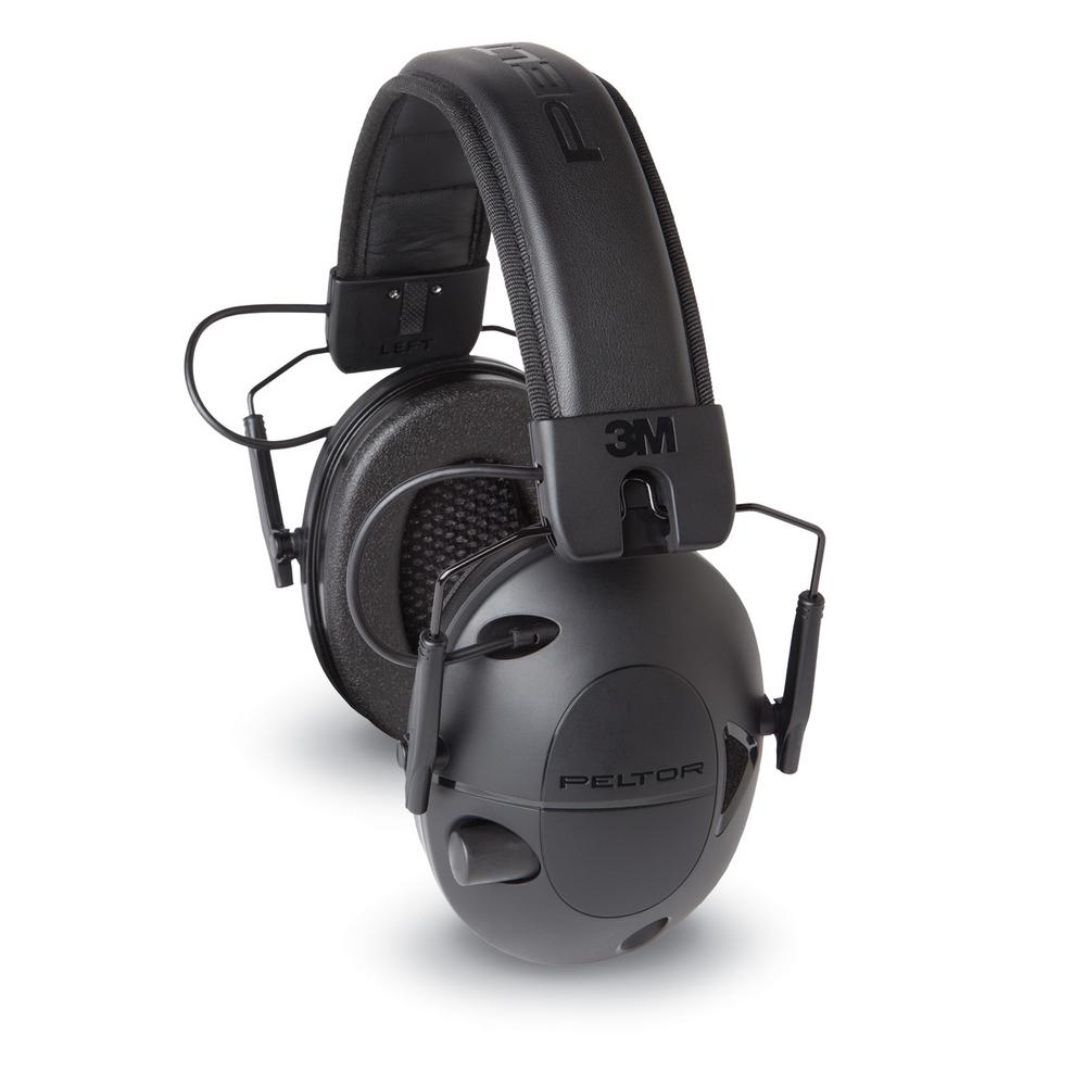 3M Peltor Sport Tactical 100 Black Electronic Hearing Pro...