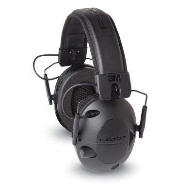 Peltor Sport Tactical 100 Black Electronic Hearing Protectors (Case of 4)