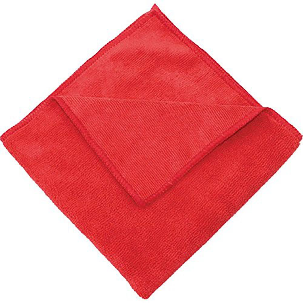 Yellow Microfiber Cloths Costco: Zwipes 16 In. X 16 In. Red Microfiber Cleaning Towel (Pack
