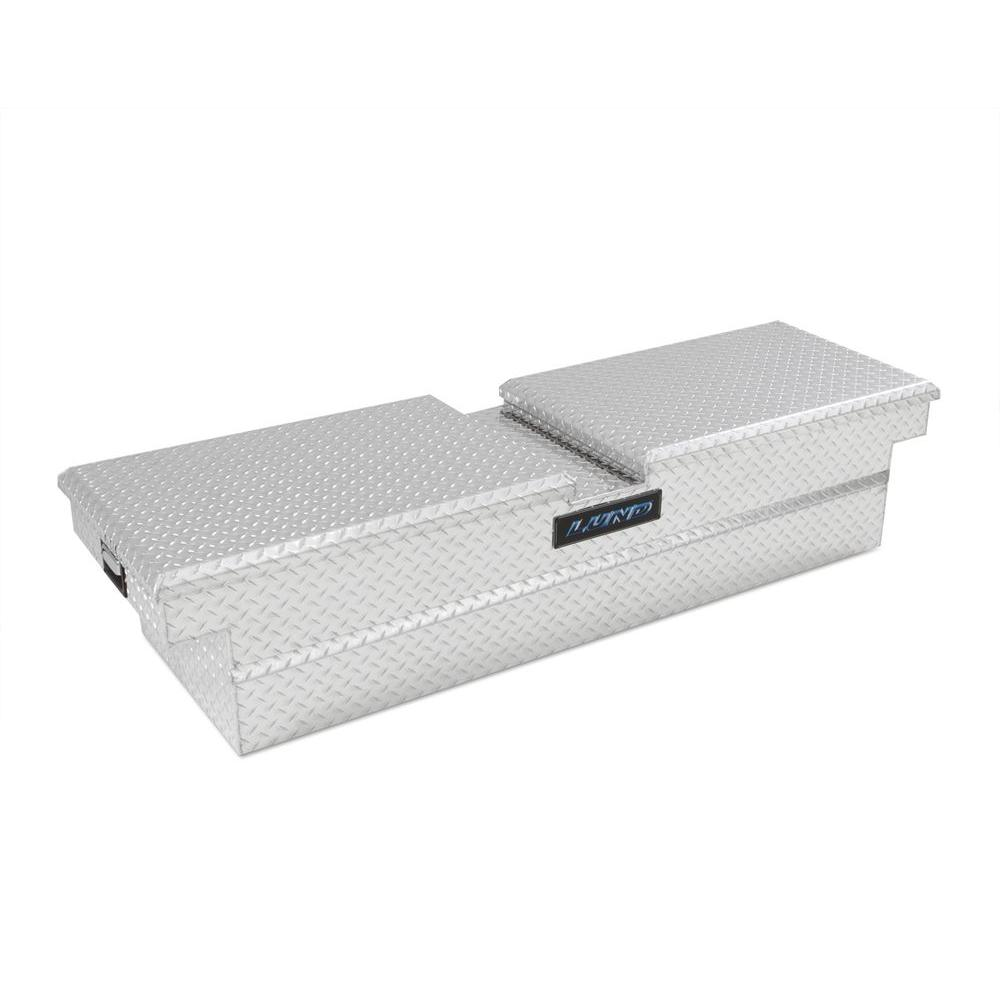 Lund 60 in. Mid Size Aluminum Double Lid Cross Bed Truck Box