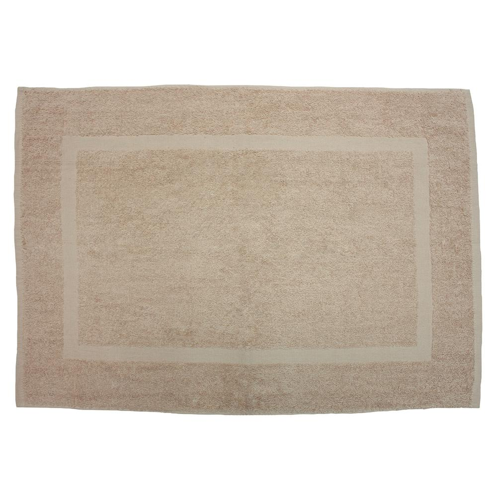 20 In X 30 In Linen Provence Bath Mat 8666 The Home Depot