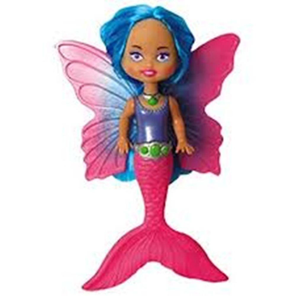 Swim Ways Fairy Tails with Blue Hair and Pink Body