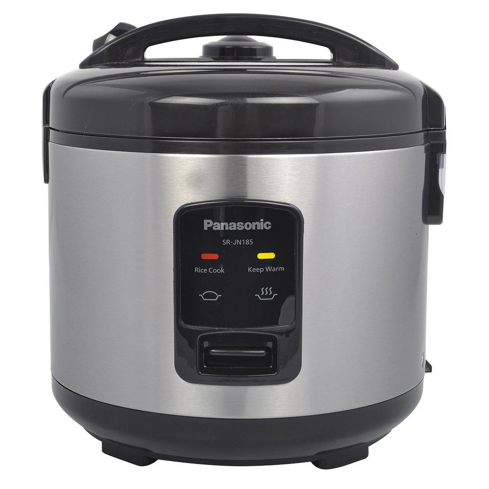 Panasonic 10-Cup (Uncooked) Automatic Rice Cooker-SRJN185