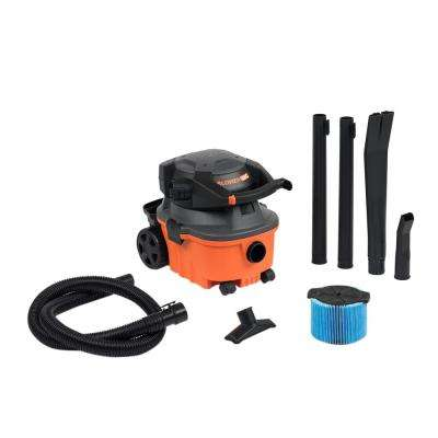 4 Gal. 6.0-Peak HP Wet Dry Vac with Detachable Blower