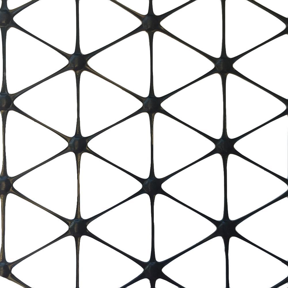 EarthLock 72 in. x 60 ft. TriAx GeoGrid Black Polypropylene Stabilization Underlayment