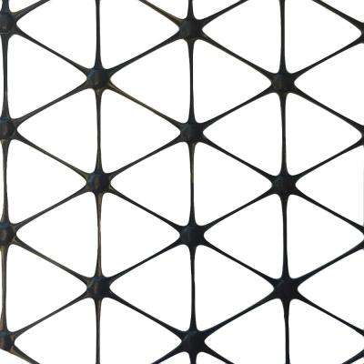 72 in. x 60 ft. TriAx GeoGrid Black Polypropylene Stabilization Underlayment