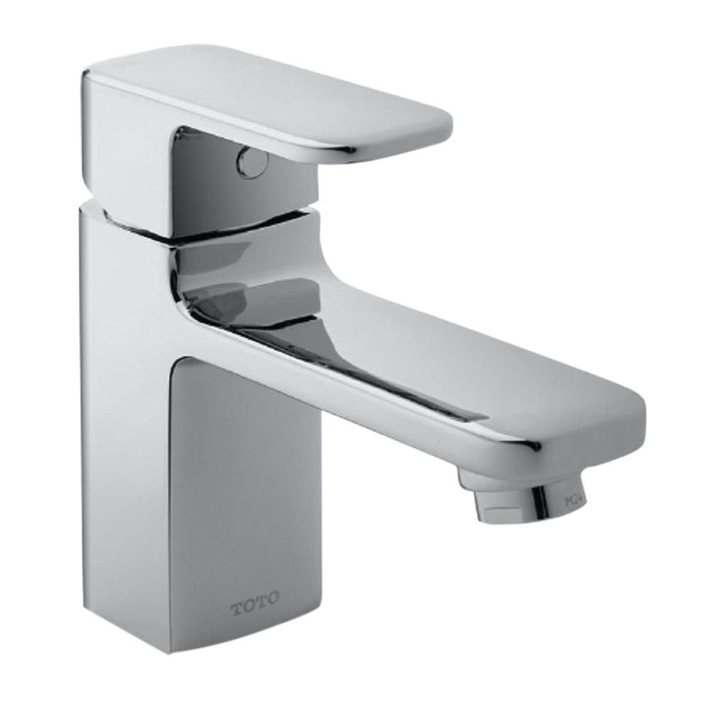 Upton Single Hole Single-Handle Bathroom Faucet in Polished Chrome