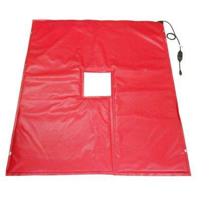 Key Hole / Utility Pole Heated Ground Thaw Blanket