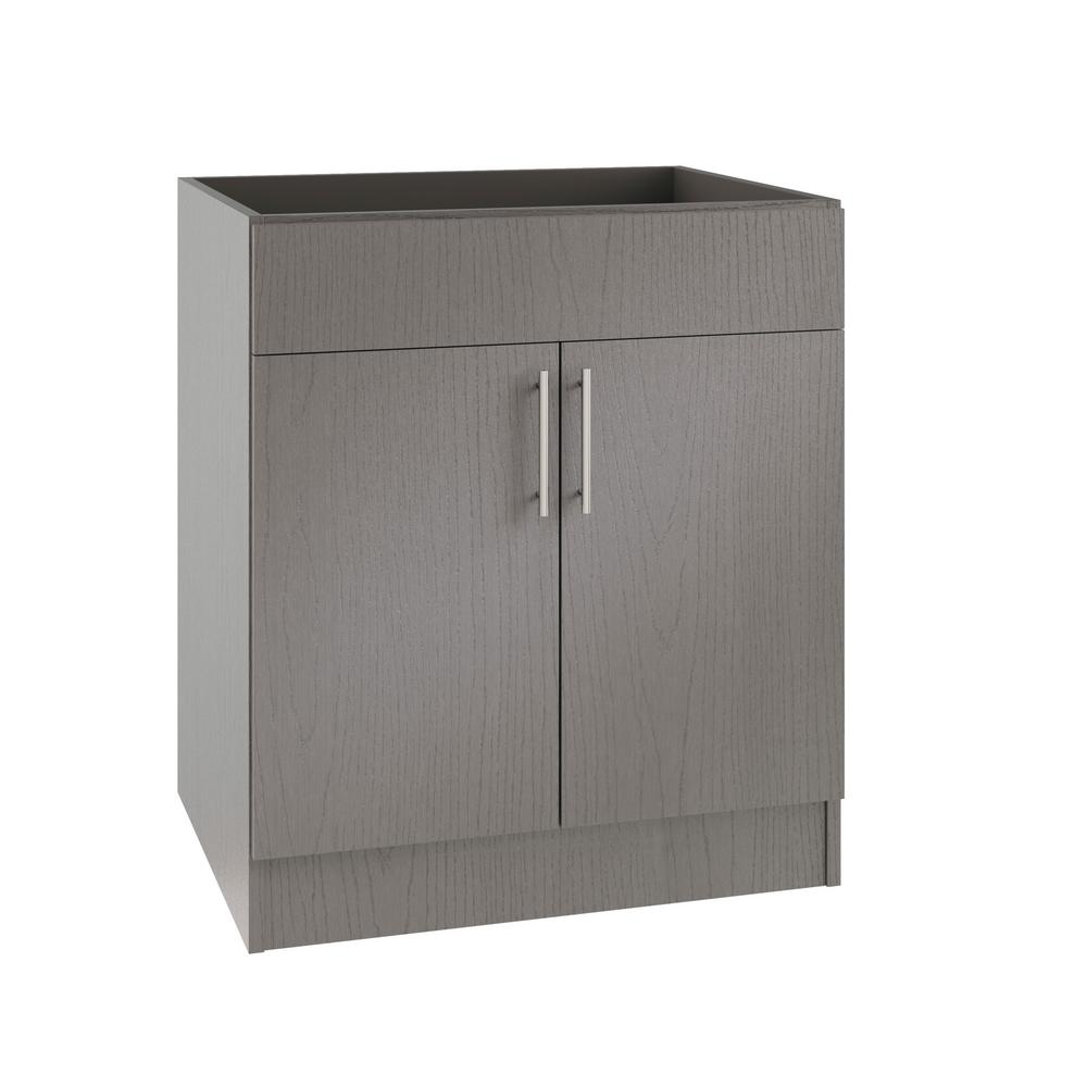 Kitchen Island Made From Base Cabinets: Hampton Bay Princeton Shaker Assembled 36x34.5x24 In. Sink