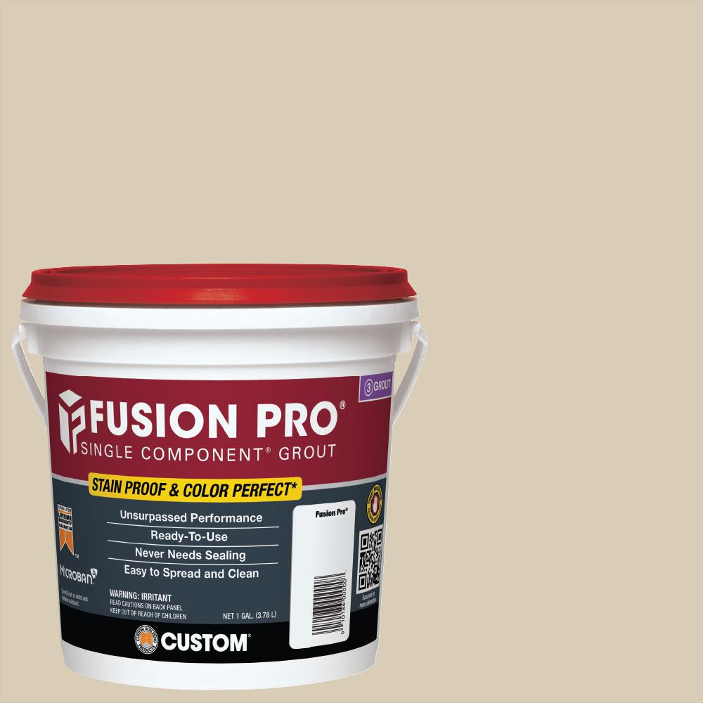 Custom Building Products Fusion Pro 545 Bleached Wood 1 Gal Single Component Grout Fp5451 2t The Home Depot