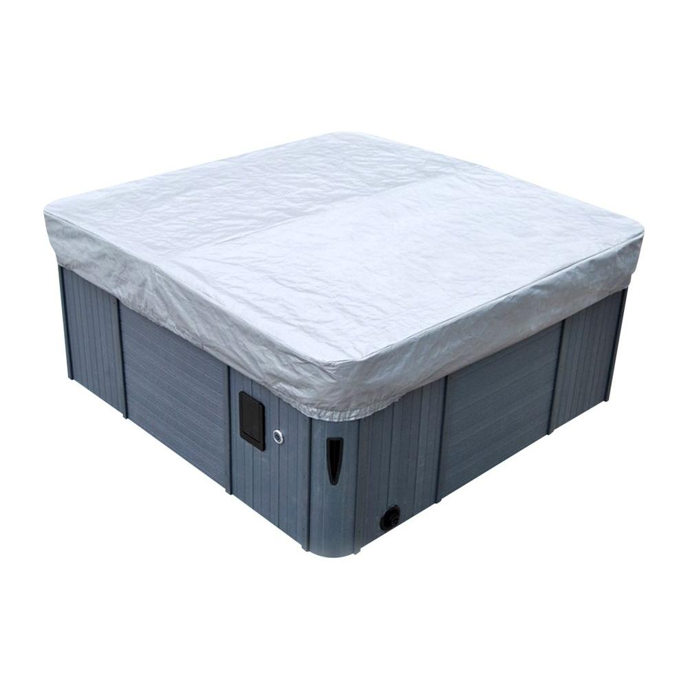 canadian spa company 8 ft spa cover guard ka 10021 the home depot. Black Bedroom Furniture Sets. Home Design Ideas
