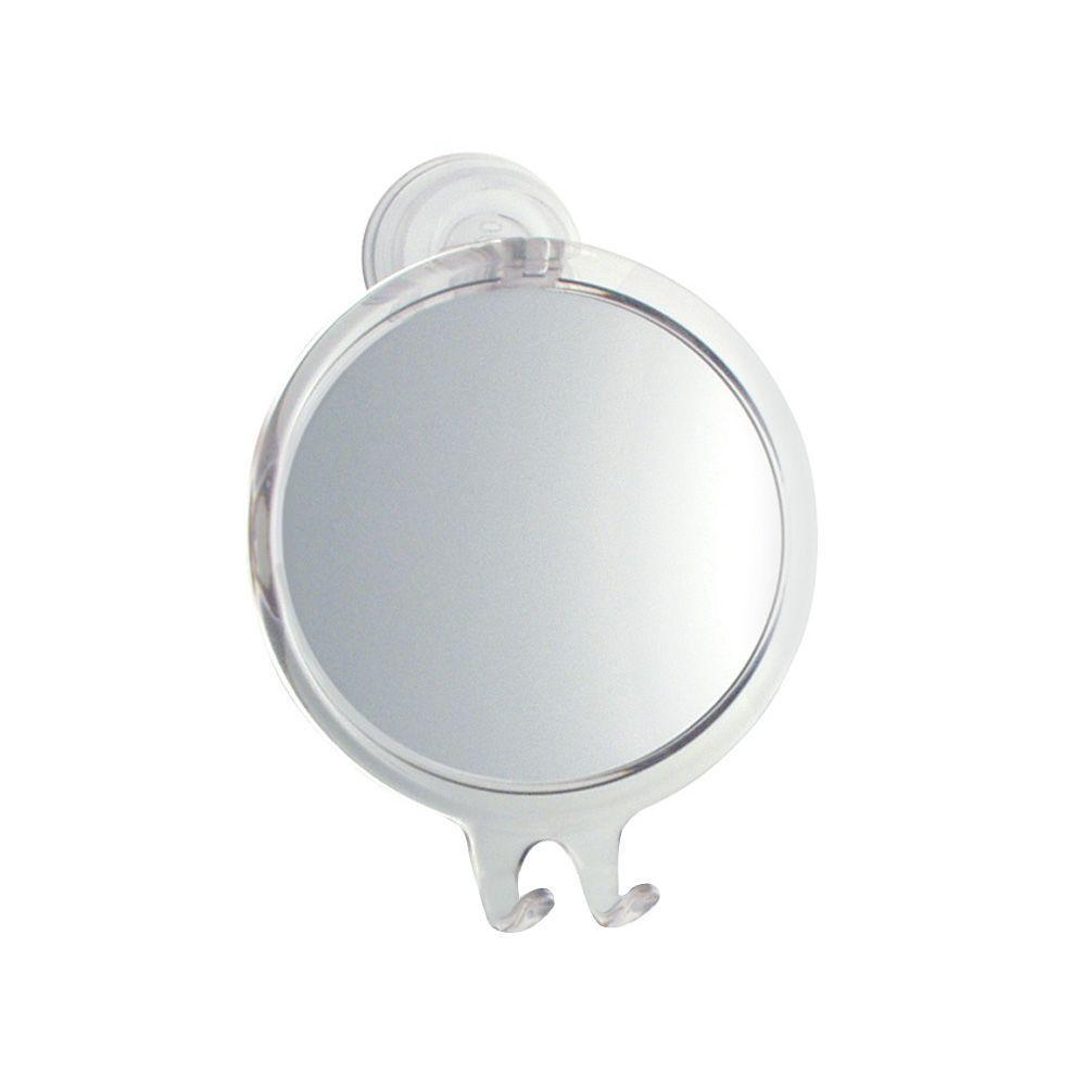 Power Lock Fog-Free Suction Mirror in Clear