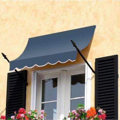 10 ft. New Orleans Awning (31 in. H x 16 in. D) in Dusty Blue
