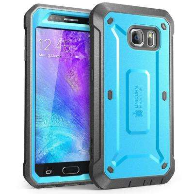 SUPCASE Unicorn Beetle Pro Full-Body Case for Galaxy S6, Blue/Black