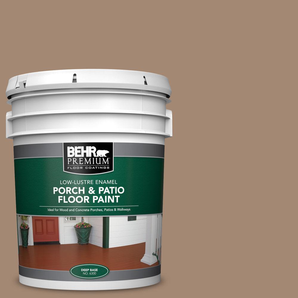 5 gal. #PFC-19 Pyramid Low-Lustre Enamel Interior/Exterior Porch and Patio Floor Paint