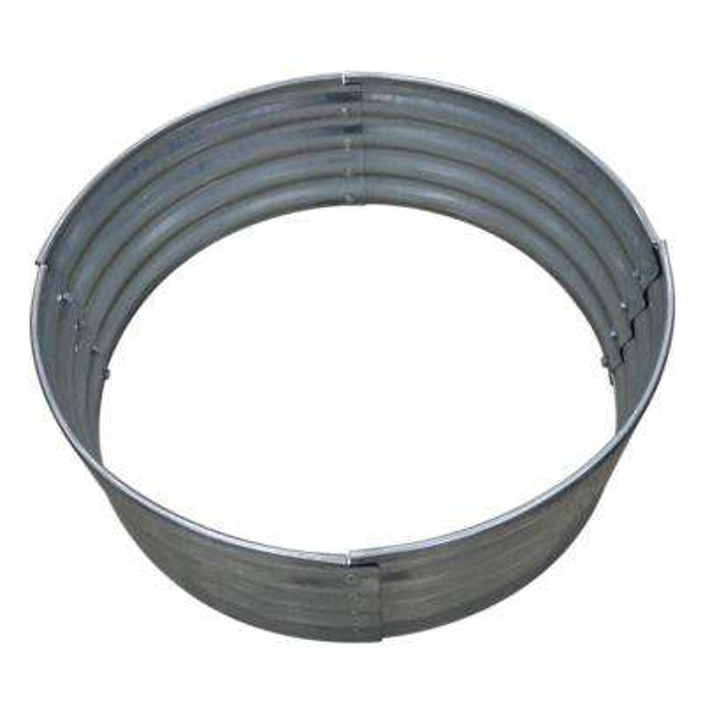 36 in. Galvanized Round Fire Ring