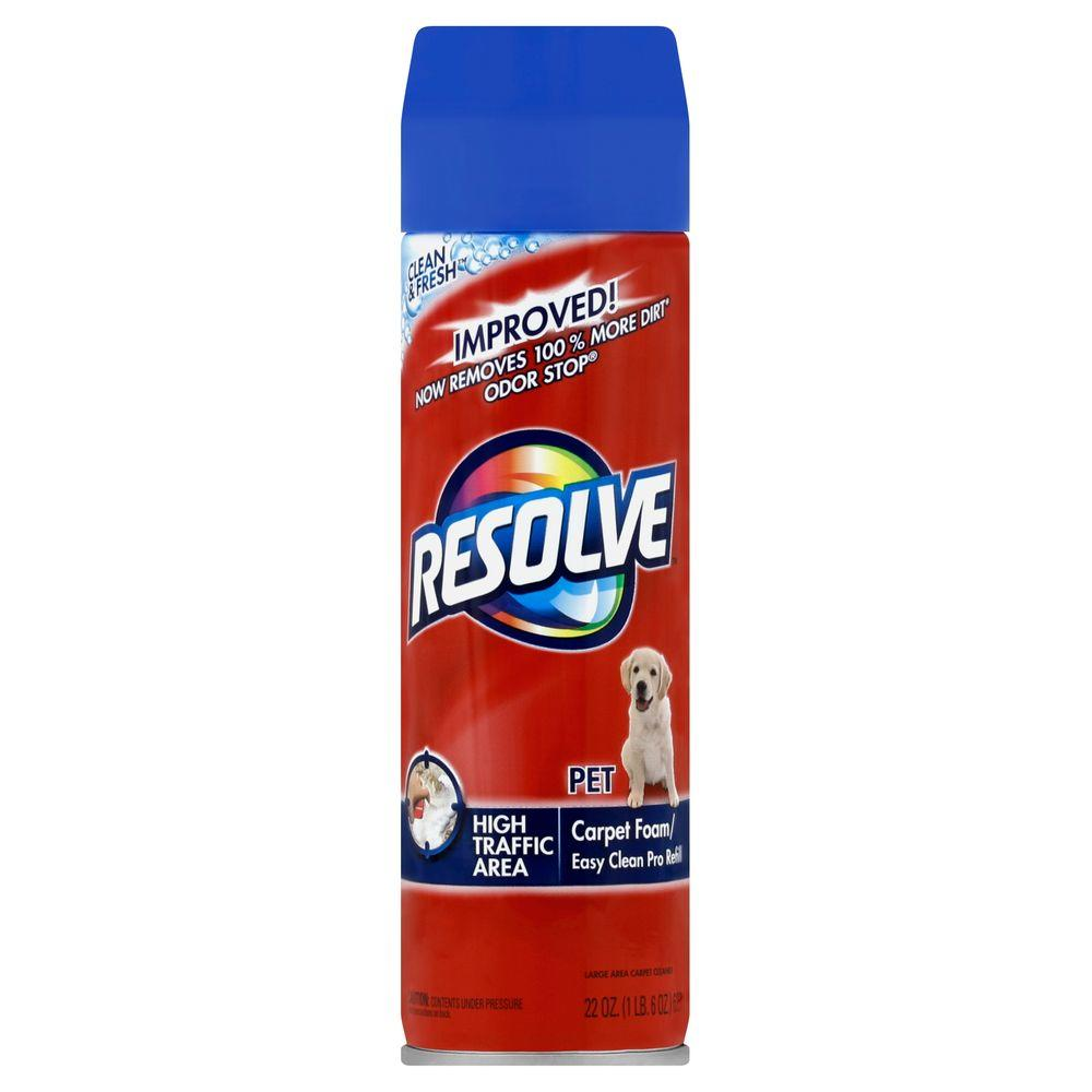 Resolve Pet Foam 22 Oz Carpet Cleaner 19200 83262 The
