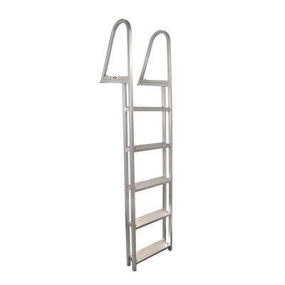 5-Step Aluminum Pontoon/Dock Ladder