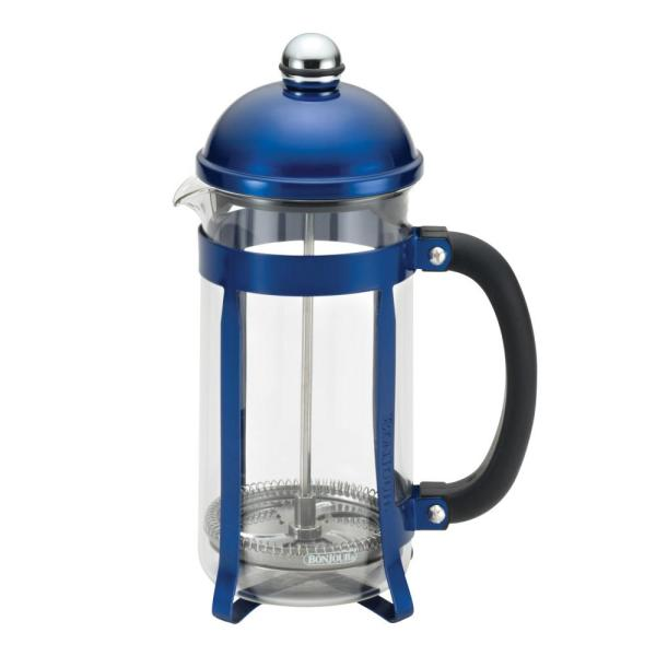 Maximus 8-Cup French Press in Blue