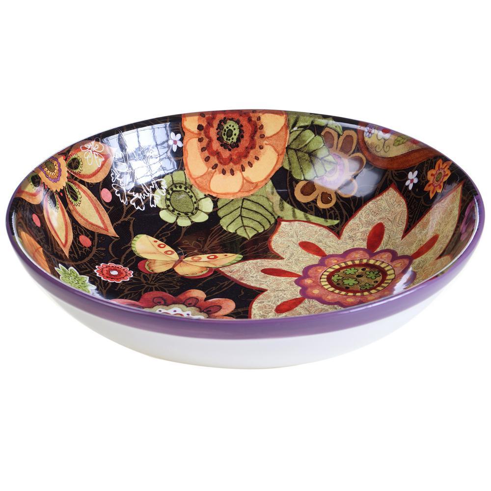 Coloratura Pasta/Salad Serving Bowl by