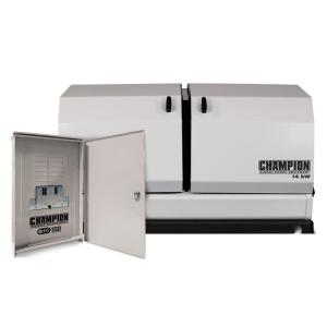 Champion Power Equipment 14,000-Watt Air Cooled Home Standby Generator with 99... by Champion Power Equipment