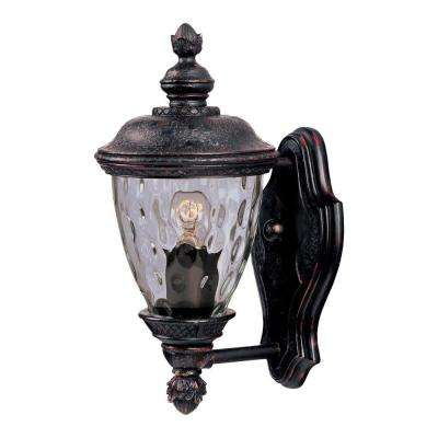 Carriage House DC 1-Light Oriental Bronze Outdoor Wall Mount