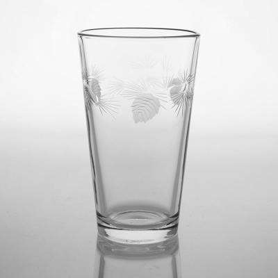 Icy Pine 16 oz. Clear Pint/Mixing Glass (Set of 4)
