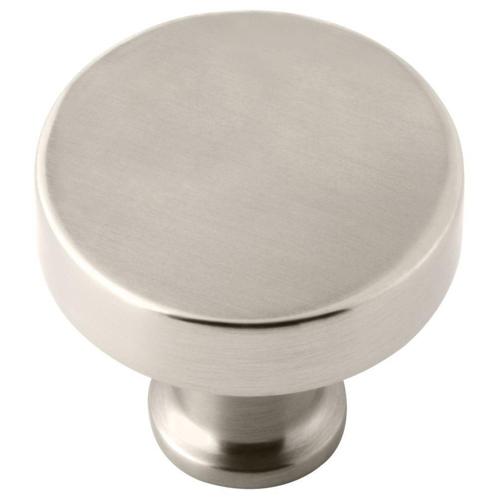 Lyndall Knob for Pivot Shower Door in Nickel